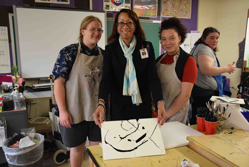 Kooning-Inspired Creations at the HS
