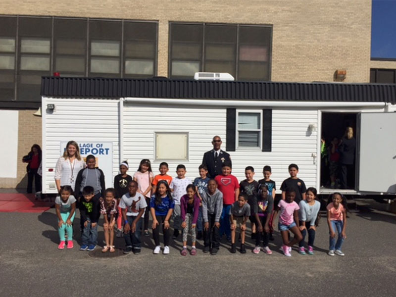 Bayview Students Learn Fire Safety