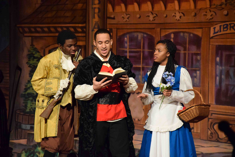 'Beauty and the Beast' Hits FHS Stage