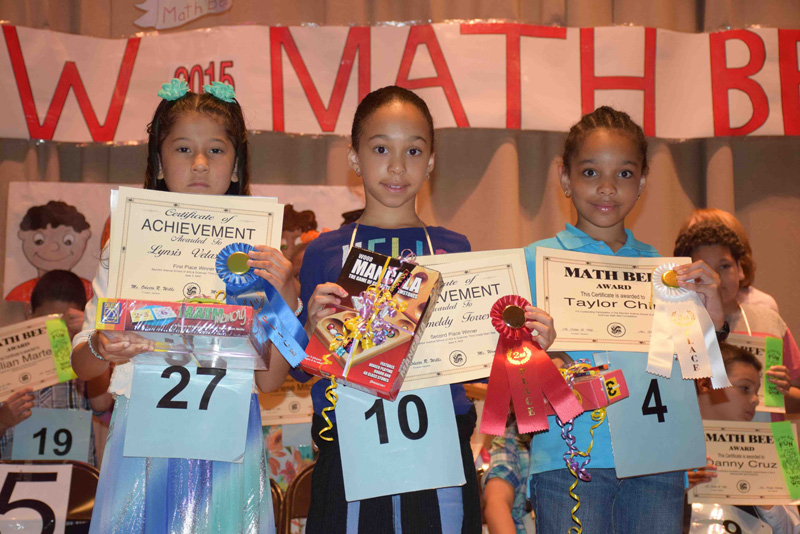 Bayview Students Shine in Math Bees