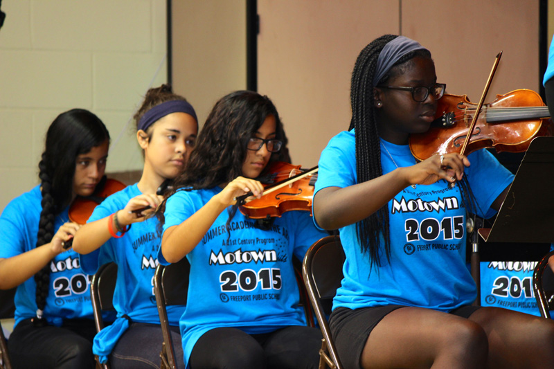 Motown Comes Alive During Summer Program