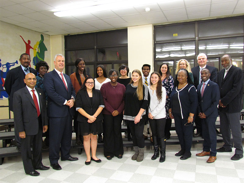 Board of Education Recognizes Academic and Athletic Excellence