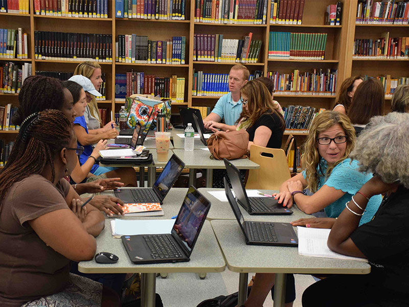 District Hosts Summer Google Institute