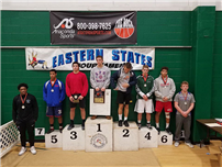 FHS Wrestler Makes History photo