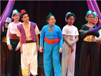 Dodd Dazzles in 'Aladdin Jr.' photo