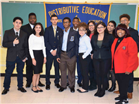 FHS Hosts DECA Competition