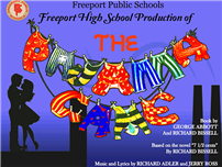 pajama game flyer image