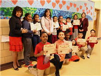 Students Recognized for Efforts in Township Program photo
