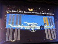 District Makes Live Contact With Astronaut Scott Tingle Aboard the ISS photo