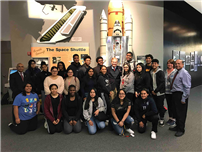 FHS Students Meet Former Astronaut photo