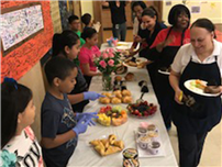 Bayview Celebrates Cafeteria Staff photo