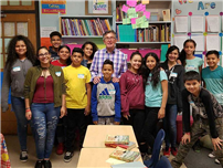 Author Visits Atkinson photo