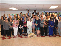 BOE Celebrates Retirees' 927 years of service photo