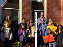 Atkinson Dedicates Peace Pole photo