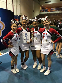 Cheerleaders Earn Bid to National Championship photo 3