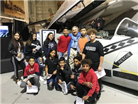 Cradle of Aviation Visit Inspires Students