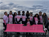 Students make strides in breast cancer awareness photo 2