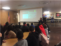 Officer Speaks to Students on Vaping Dangers photo  thumbnail142846