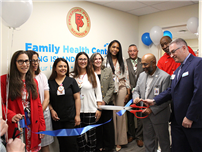 District Hosts Ribbon-cutting for Health Center