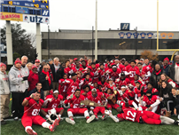 Football Team Wins Rutgers Cup!